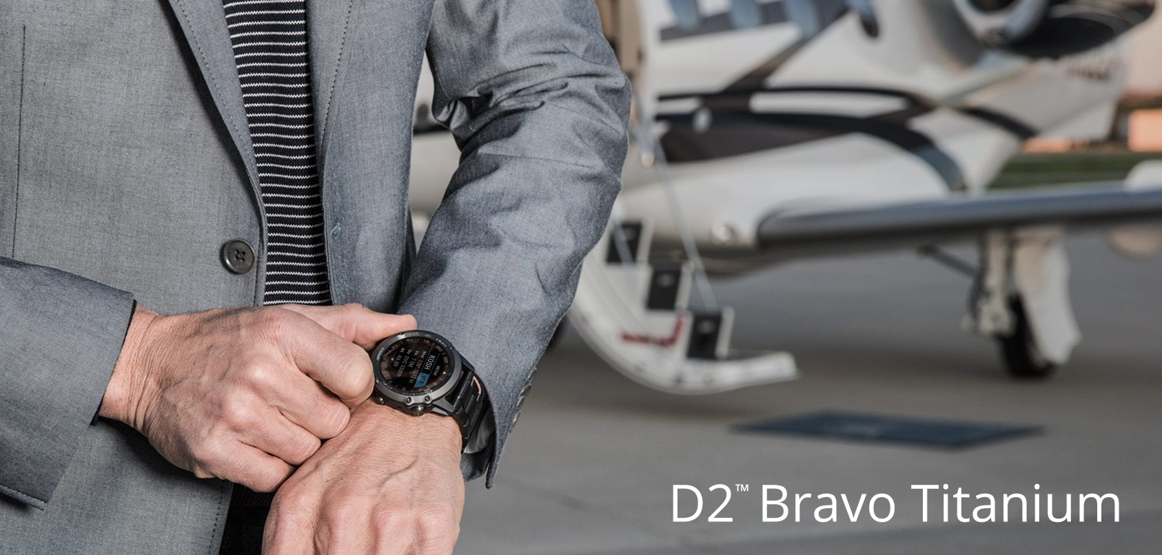 Garmin D2 Bravo Titanium Aviator Watch