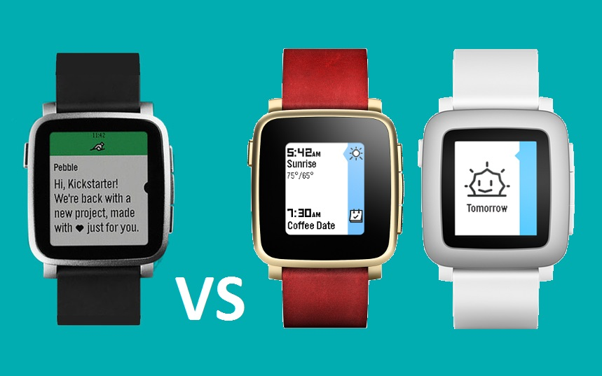 Od lewej: Time 2, Time Steel i Time