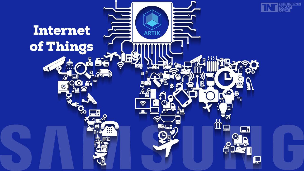 Samsung od lat pracuje nad elementami IoT. Artik to platforma dla urządzeń połączonych, którą pewnie Samsung w Korei wykorzysta. fot. technewstoday.com