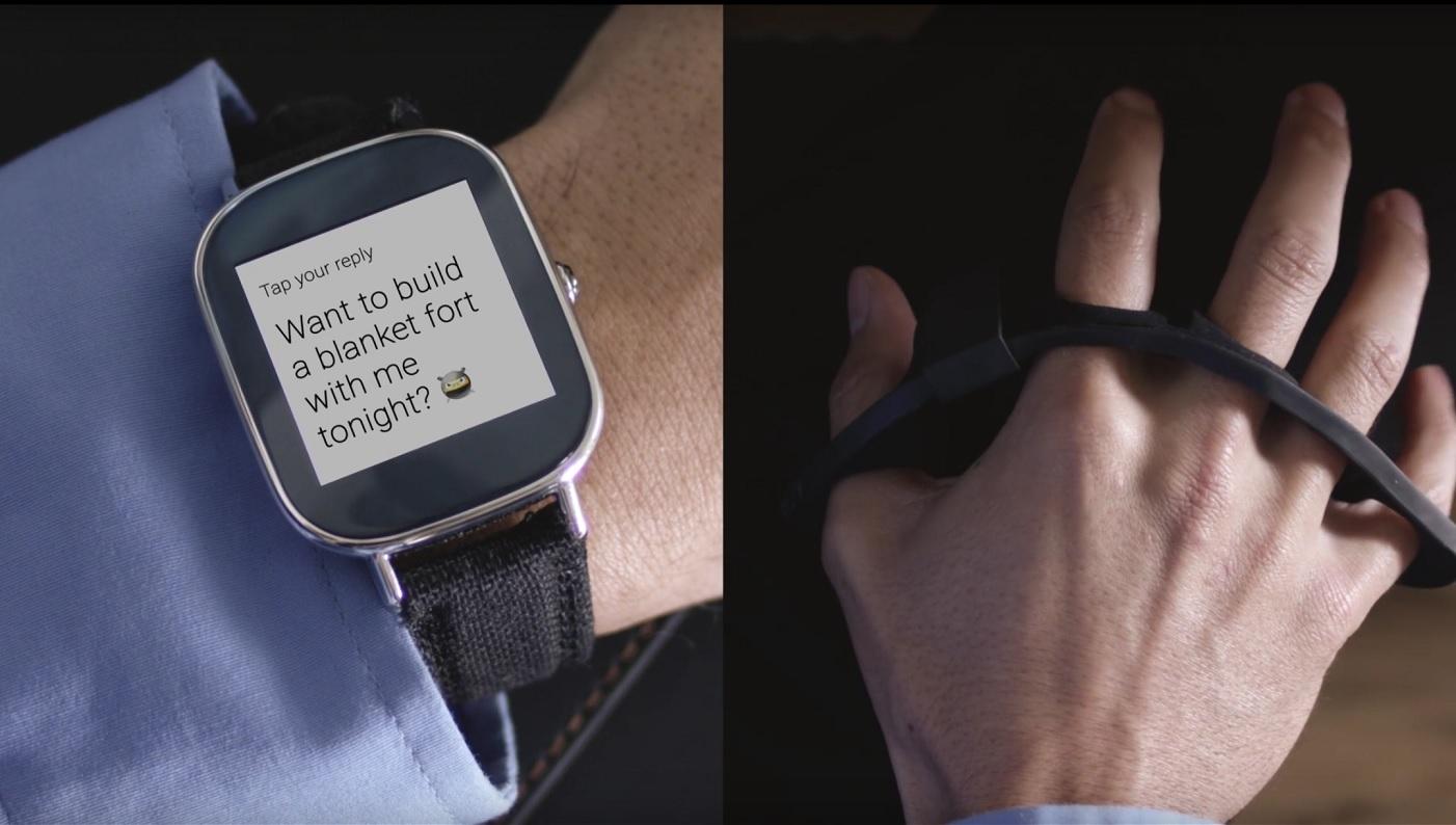 Klawiatura Tap świetnie uzupełniłaby smartwatch.