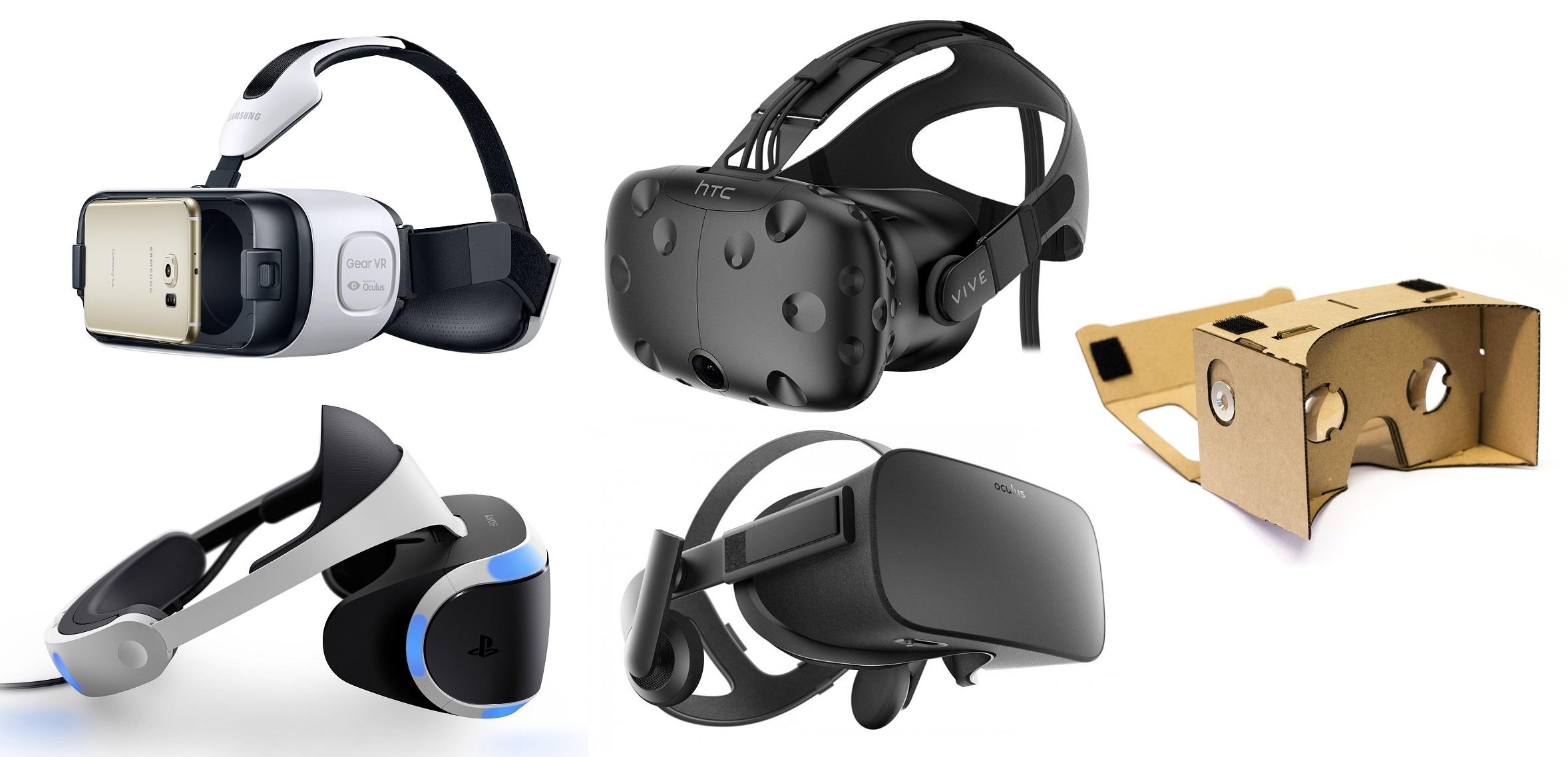 gogle VR porównanie
