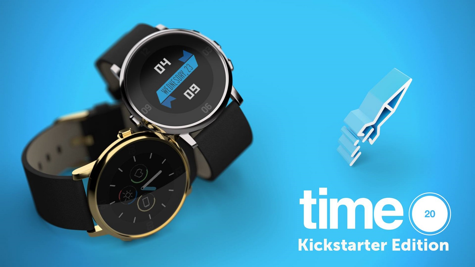 Pebble Time Round Kickstarter Editon