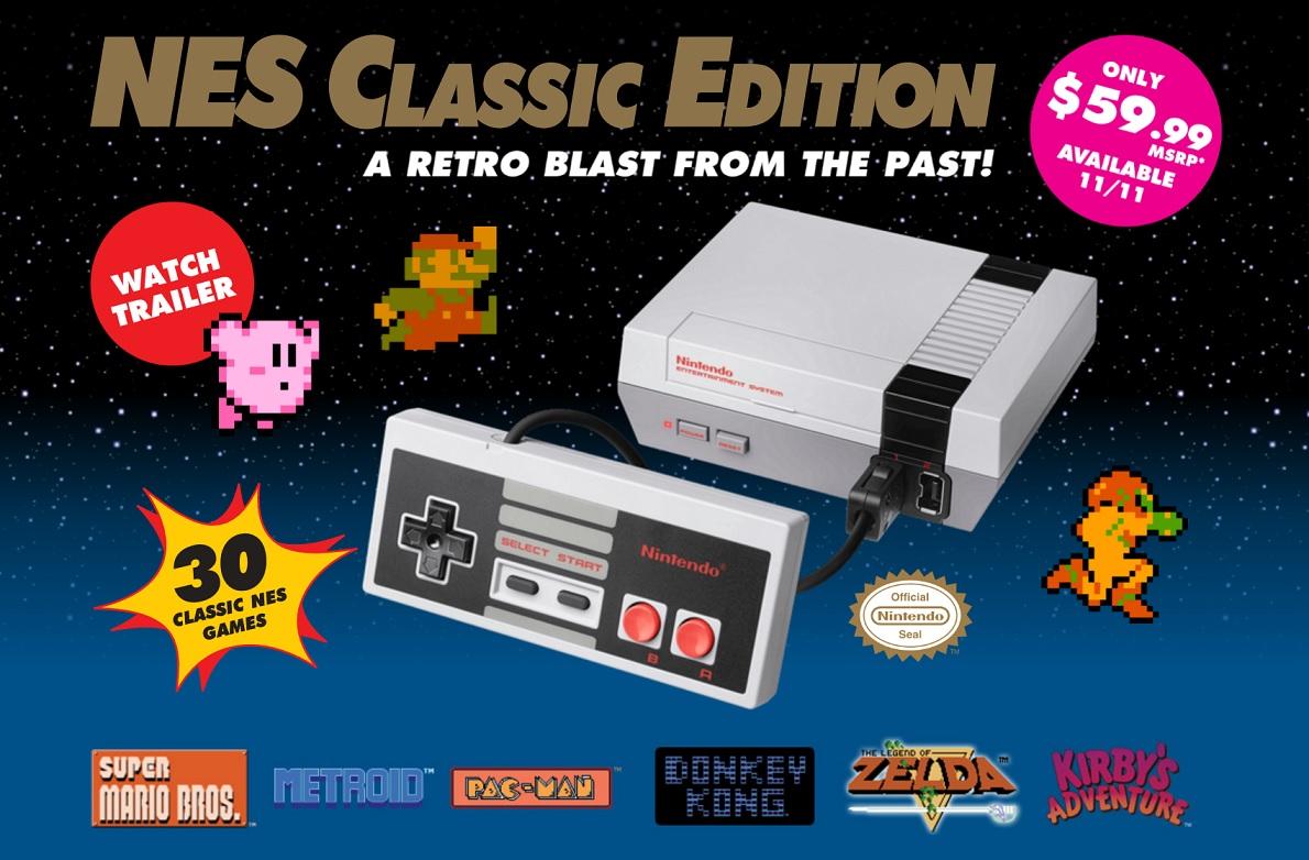 NES Classic Edition - retro konsole