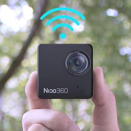 Nico 360 najmniejsza kamerka sferyczna