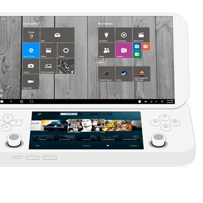 przenośna konsola z Windows i Androidem
