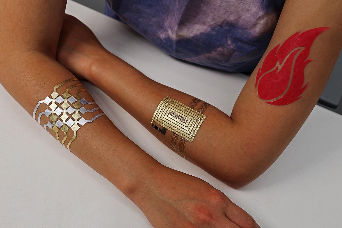 Duoskin Smart Tatuaże Do Kontroli Smartfona