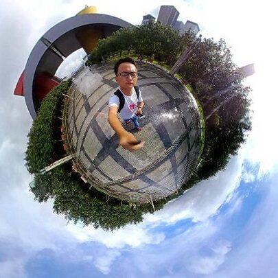 Tiny Planets Elecam 360 icon