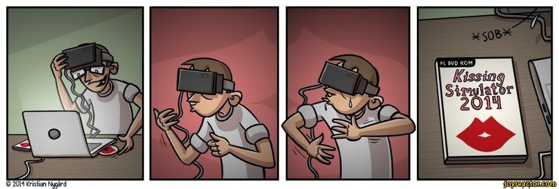 Pomysłów na wykorzystanie VR jest sporo. Ograniczać będzie nas tylko wyobraźnia :P