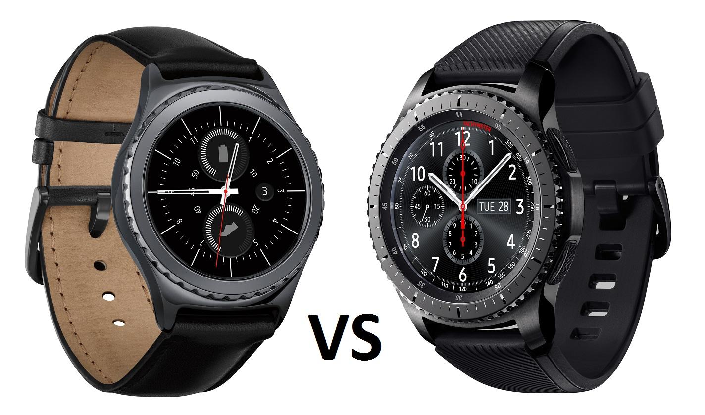 Samsung Gear S3 vs Gear S2