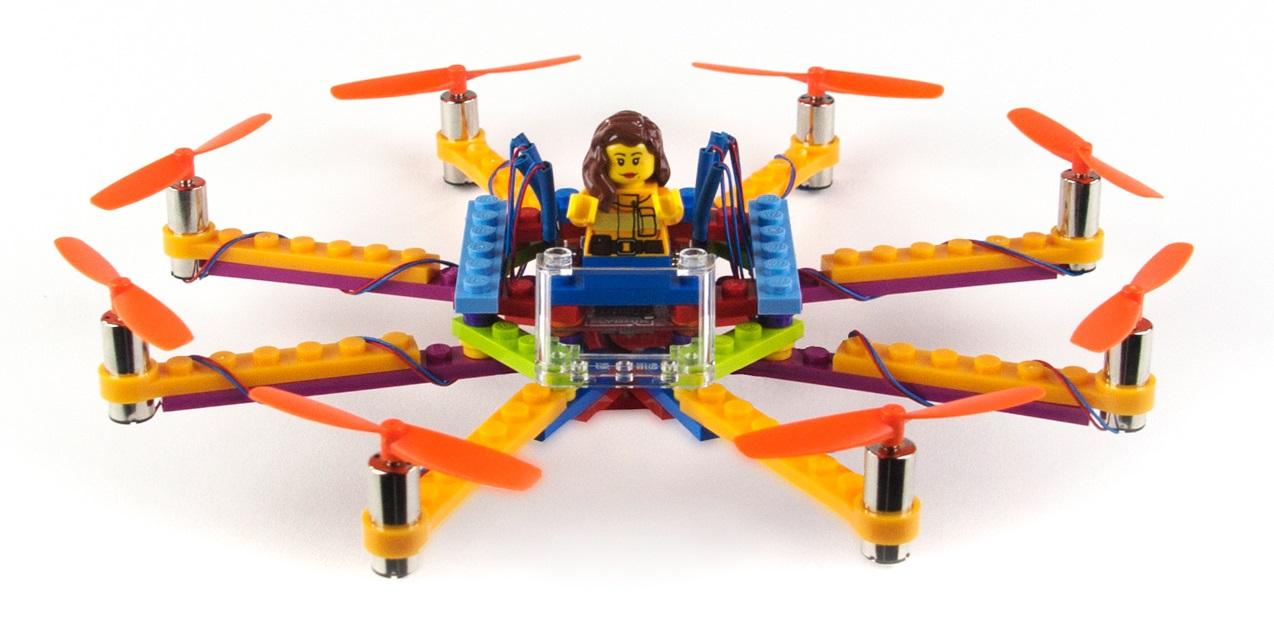 Flybrix Zbuduj Własnego Mini Drona Z Klocków Lego