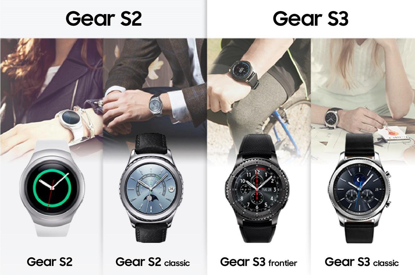 Obecna oferta smart zegarków Samsung Gear