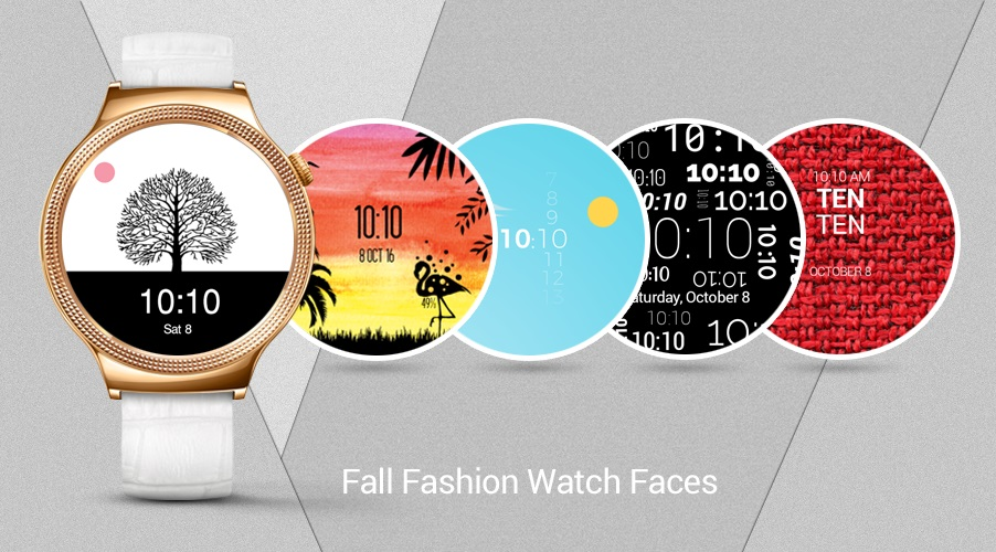 Fall Fashion Watch Faces