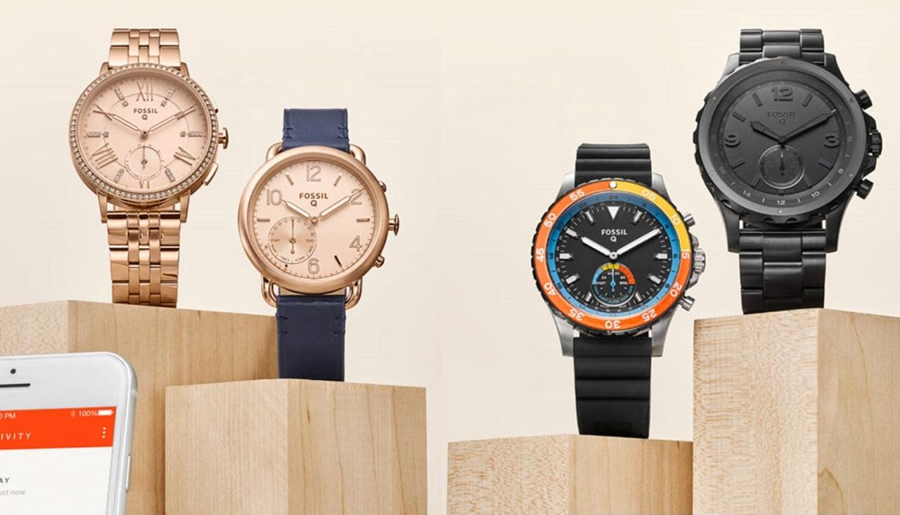 Fossil Q hybrydowe zegarki