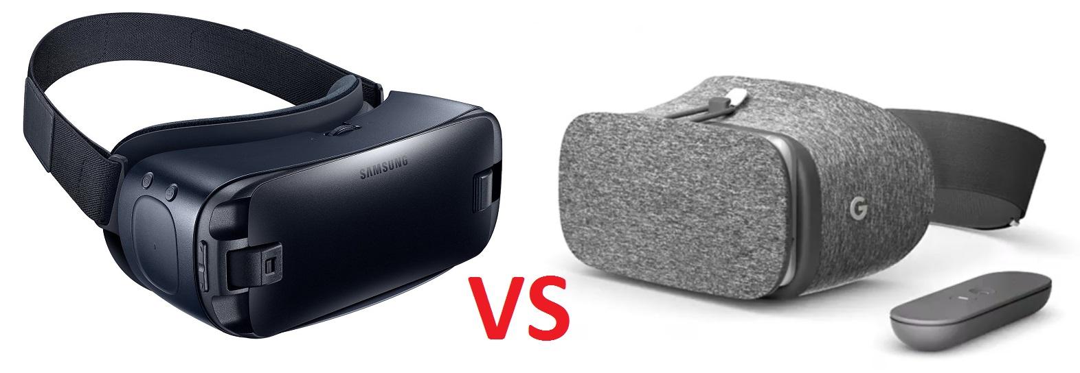 Samsung Gear VR vs Google Daydream View