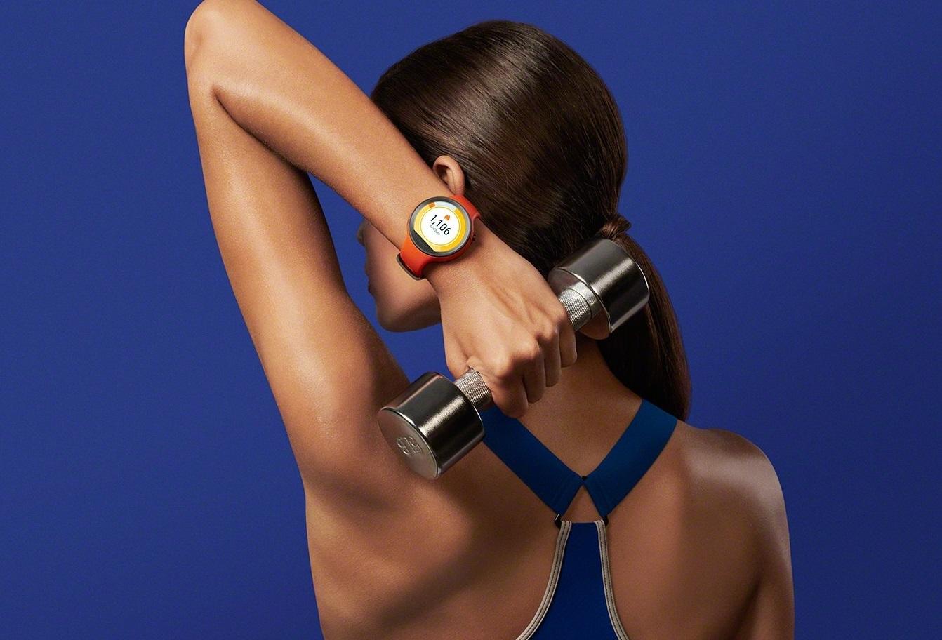 Atlas Wear z MotionAI można zainstalować na Moto 360 Sport, które jest przystosowane do fitnessu.