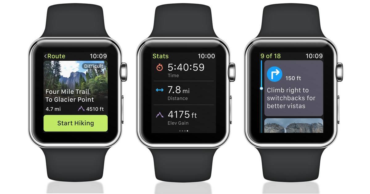 ViewRanger Apple Watch
