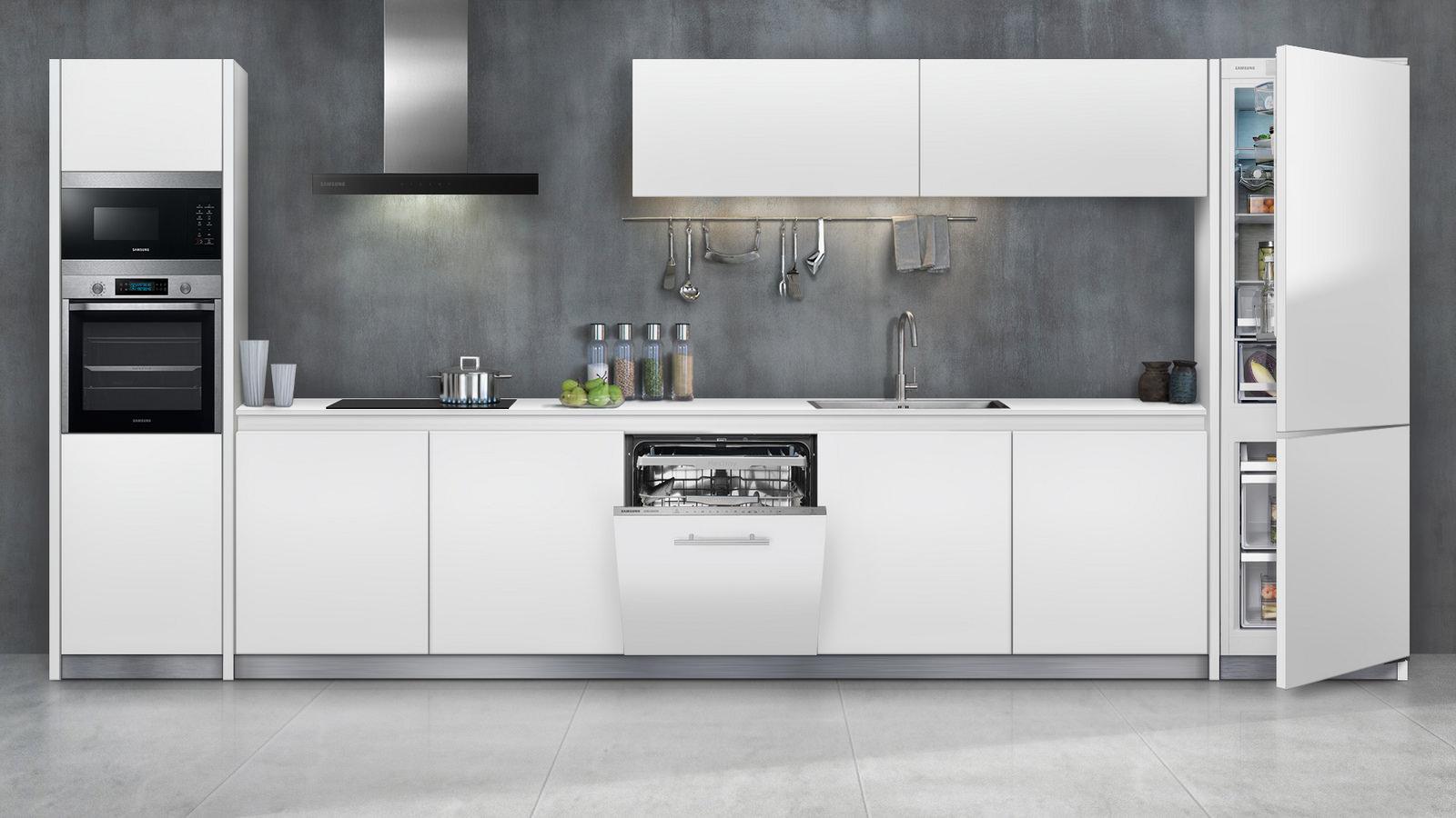 Samsung z kompletem smart zabudowy AGD do kuchnia -> Kuchnia Elektryczna Do Zabudowy Samsung