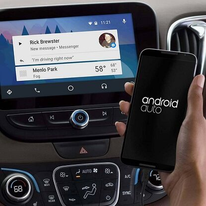 Android Auto Facebook Messenger