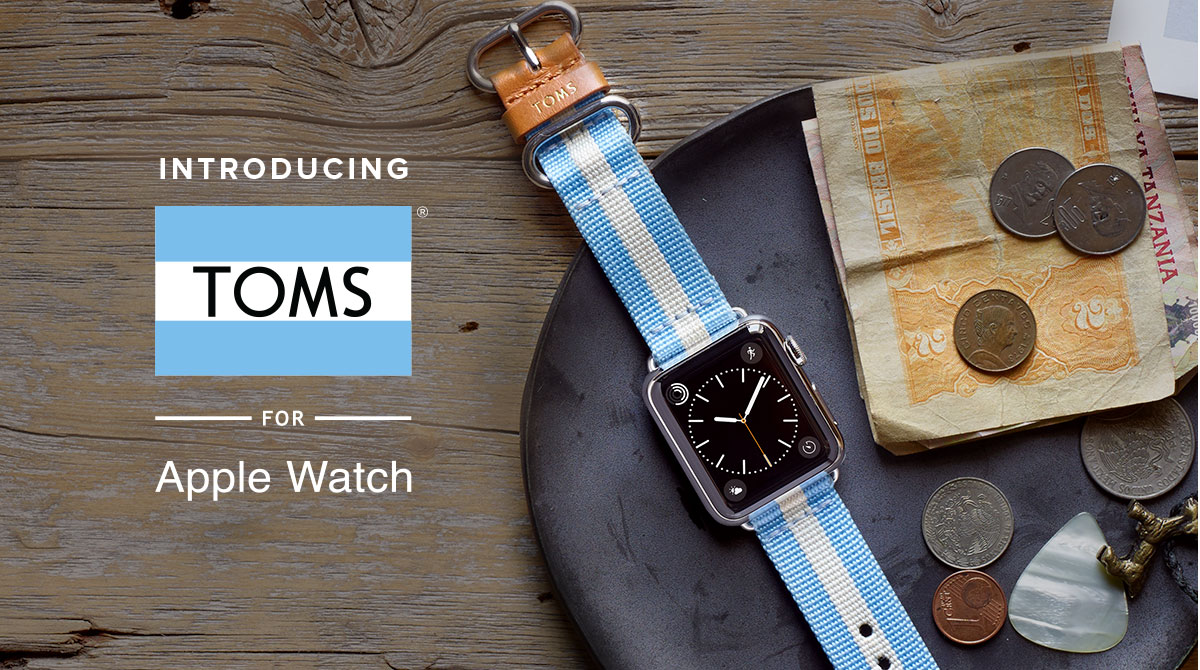 TOMS Apple Watch