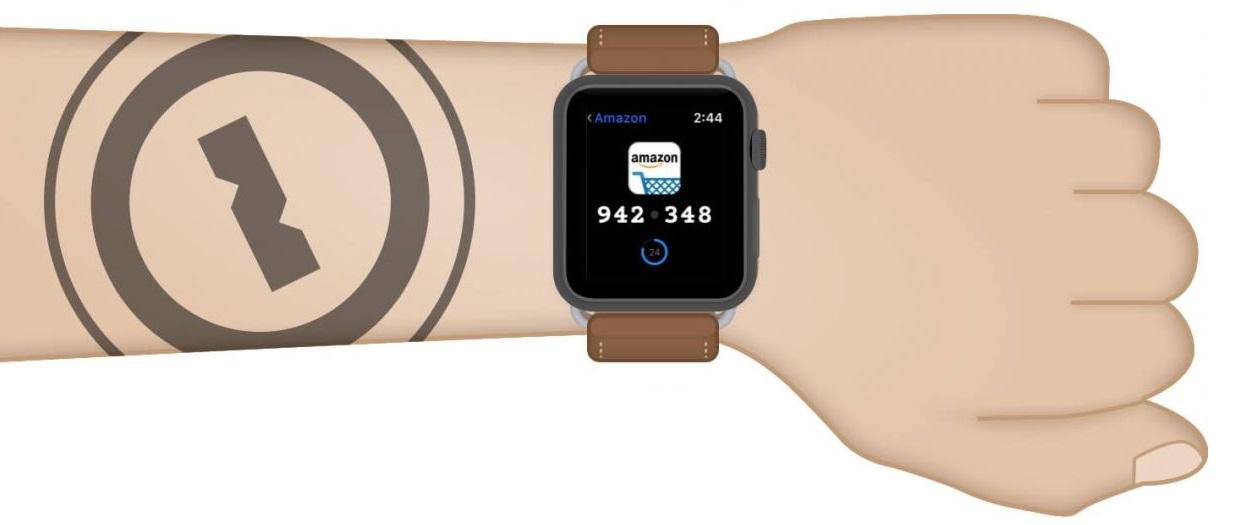 1Password Apple Watch