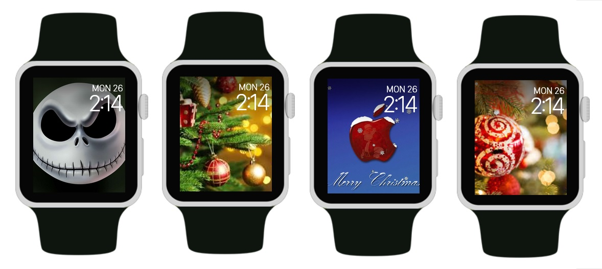Apple Watch Christmas Faces