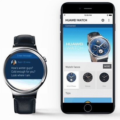 Android Wear 2.0 iPhone