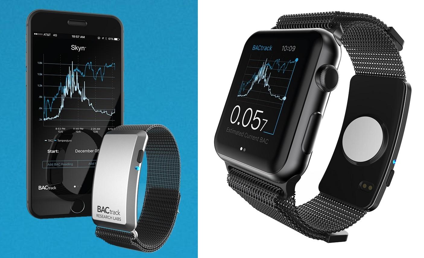 BACtrack Skyn Apple Watch
