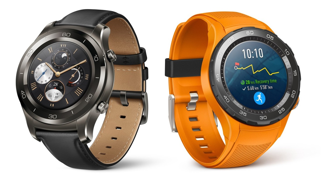 Huawei Watch 2 i Huawei Watch 2 Classic z Android Wear 2.0