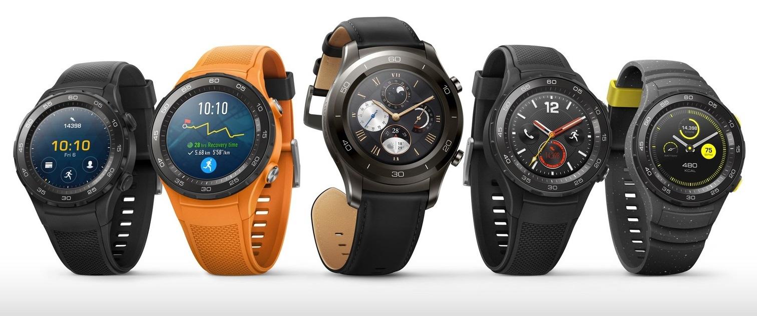 Huawei Watch 2 i Huawei Watch 2 Classic z Android Wear 2.0