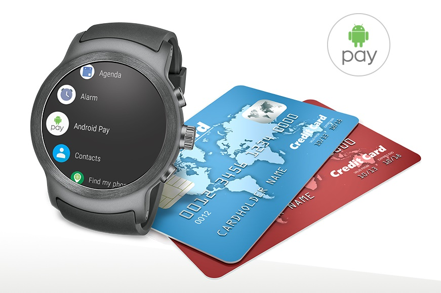 LG Watch Sport Android Pay