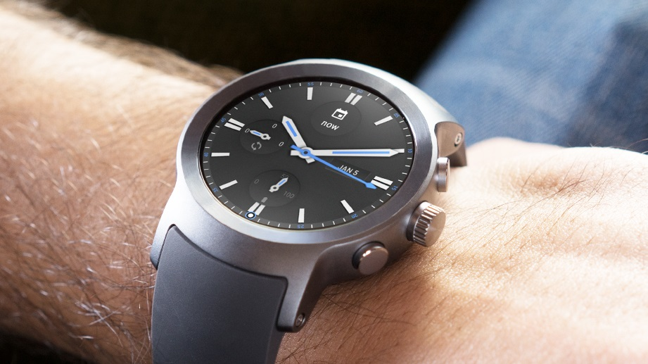 LG Watch Sport ekran
