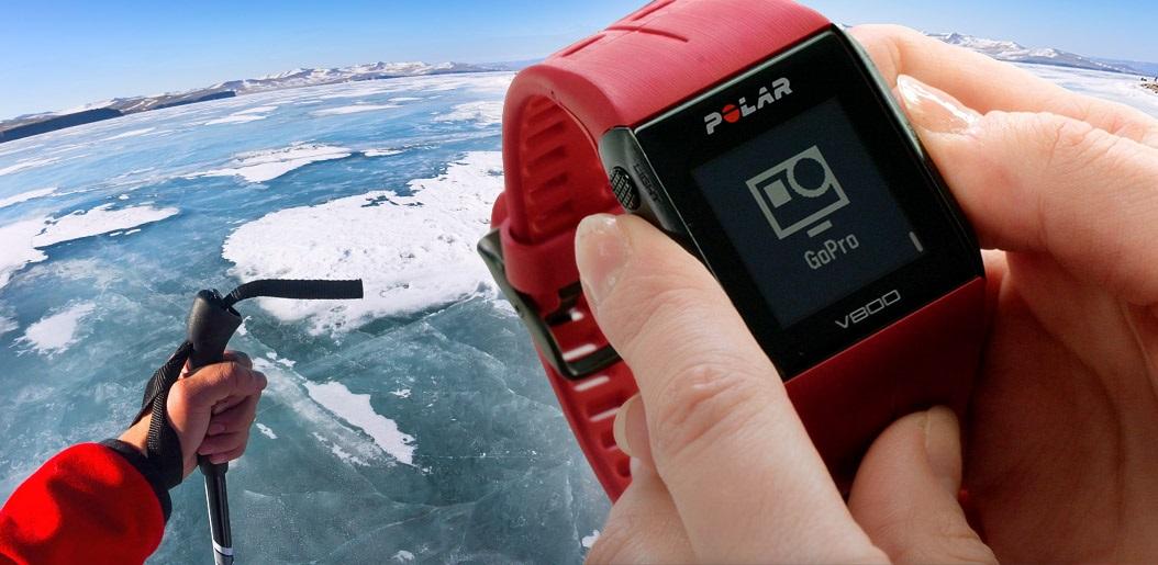 Polar V800 GoPro