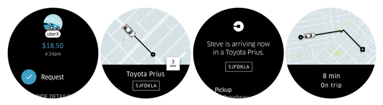 Uber Android Wear