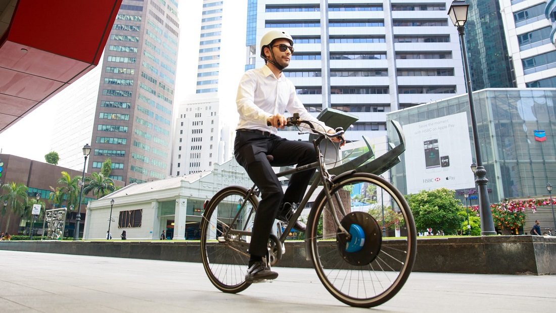 UrbanX Electric E-Bike Wheel