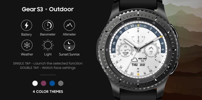 Gear S3 Outdoor