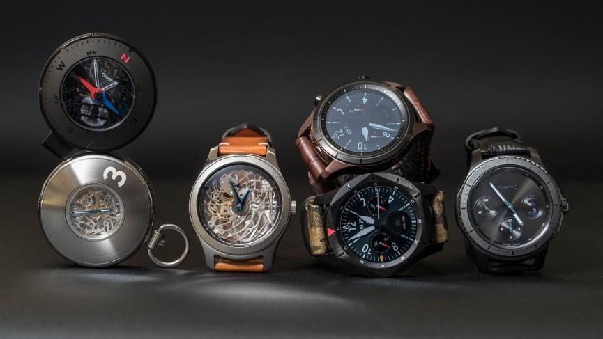 Gear S3 smart pocket watch