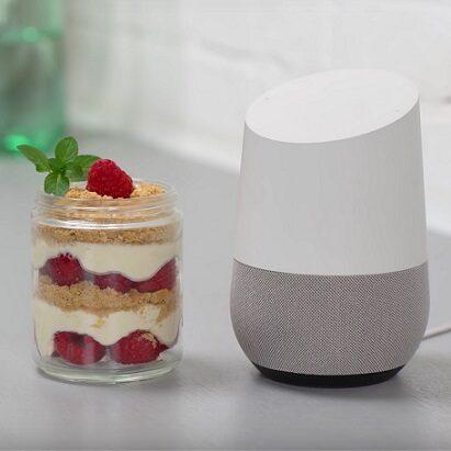 Google Home przepisy