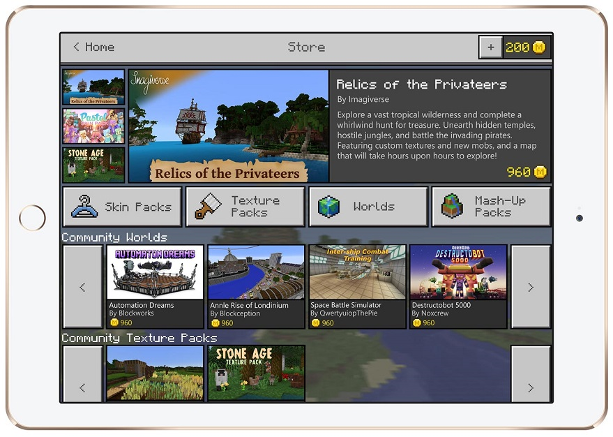 Minecraft Marketplace