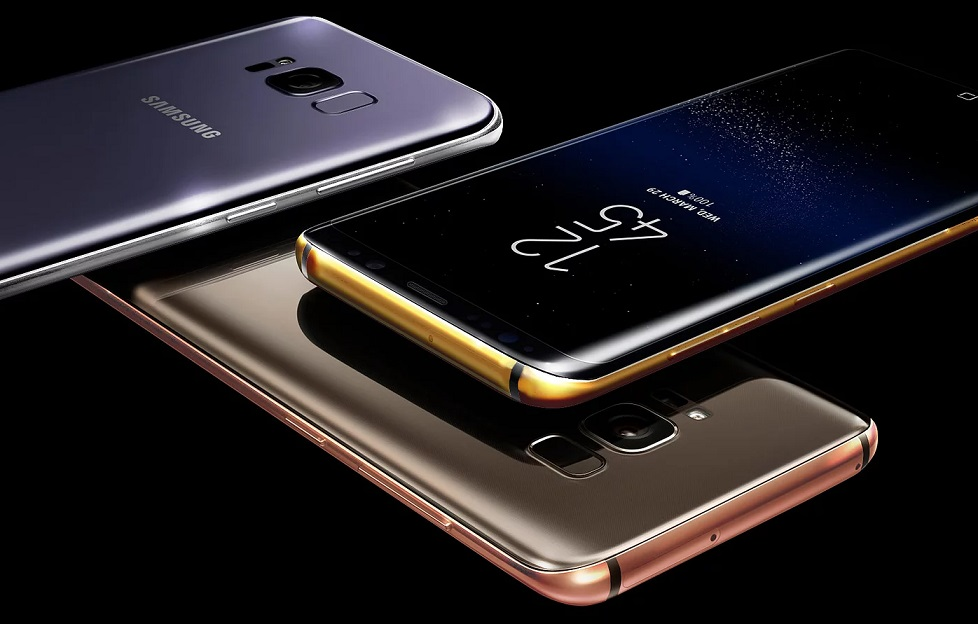 Truly Excuisite Gold Galaxy S8