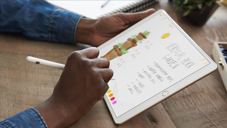 iPad Pro z Pencil
