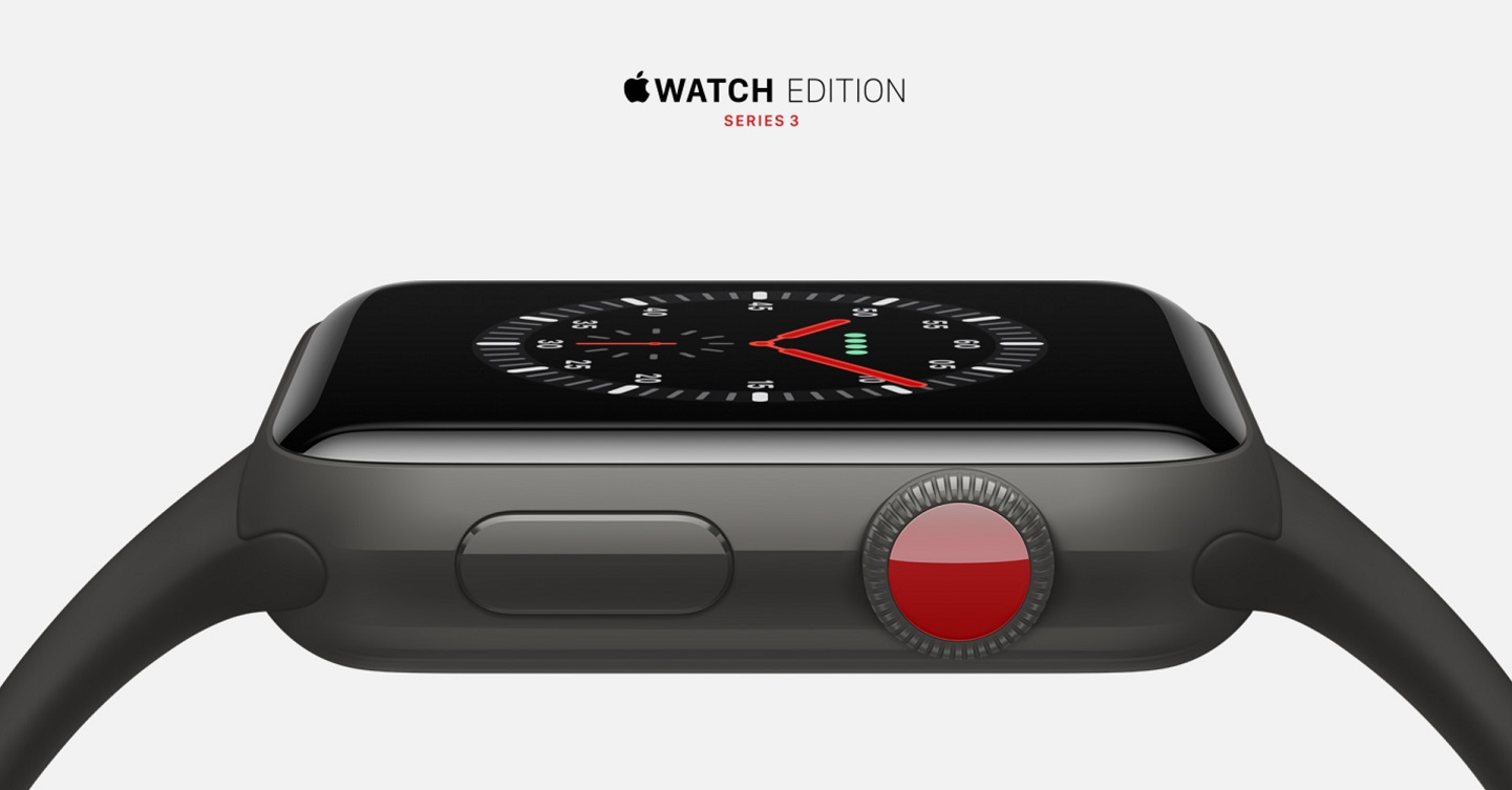 Apple Watch series 3 Edition Ceramic Gray