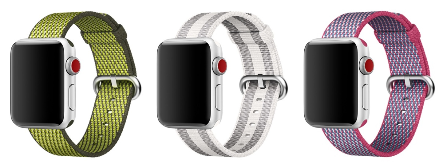 Apple Watch series 3 Woven Nylon