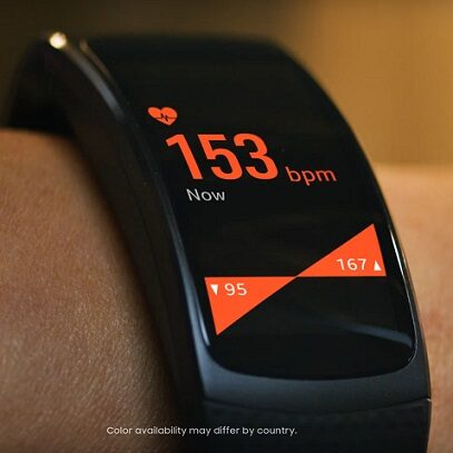 Gear Fit 2 tętno
