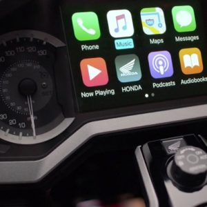 Honda Gold Wing CarPlay