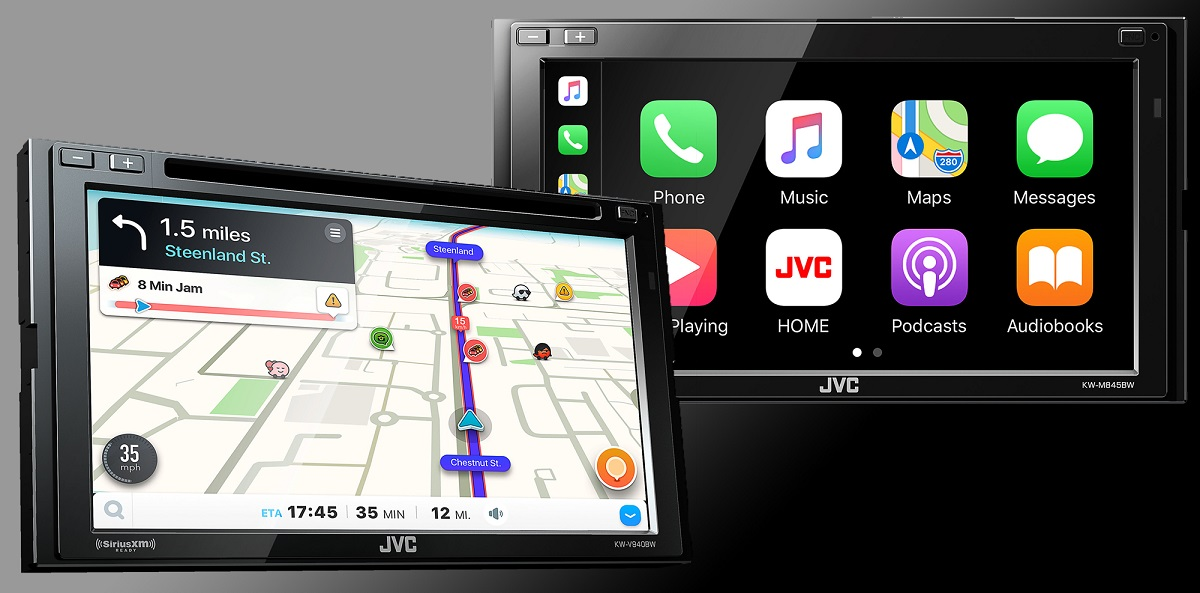 JVC Android Auto wireless
