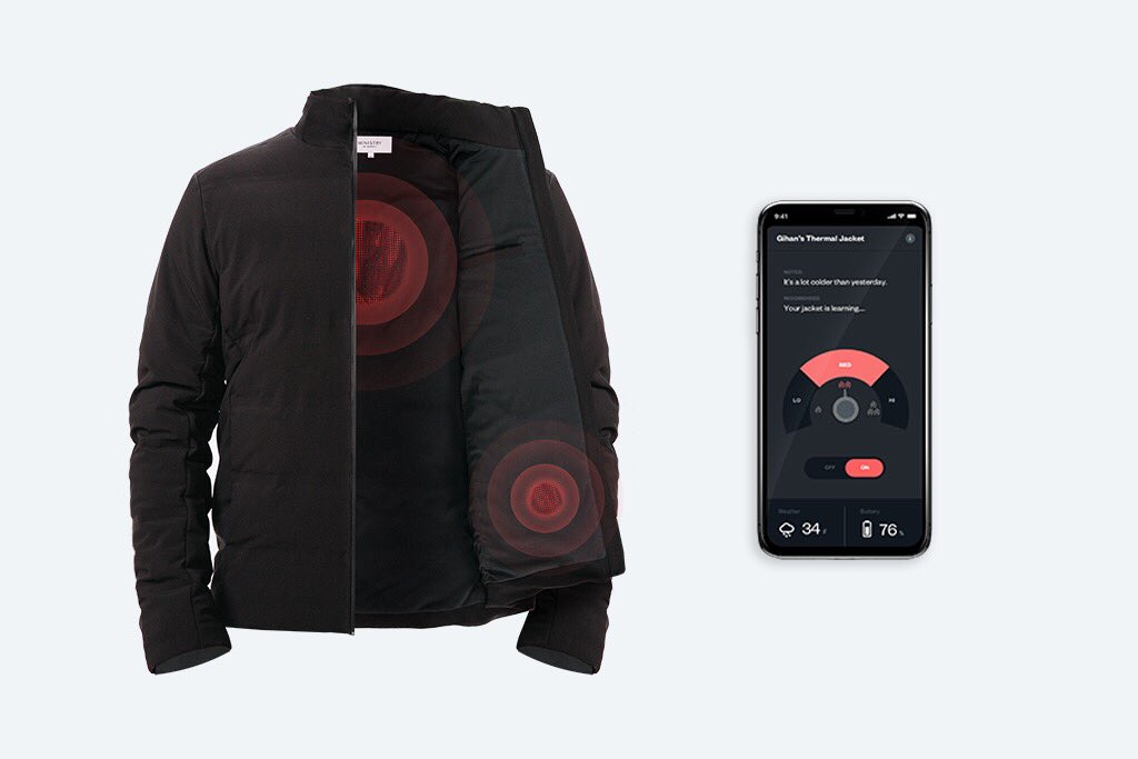 Mercury Intelligent Heated Jacket