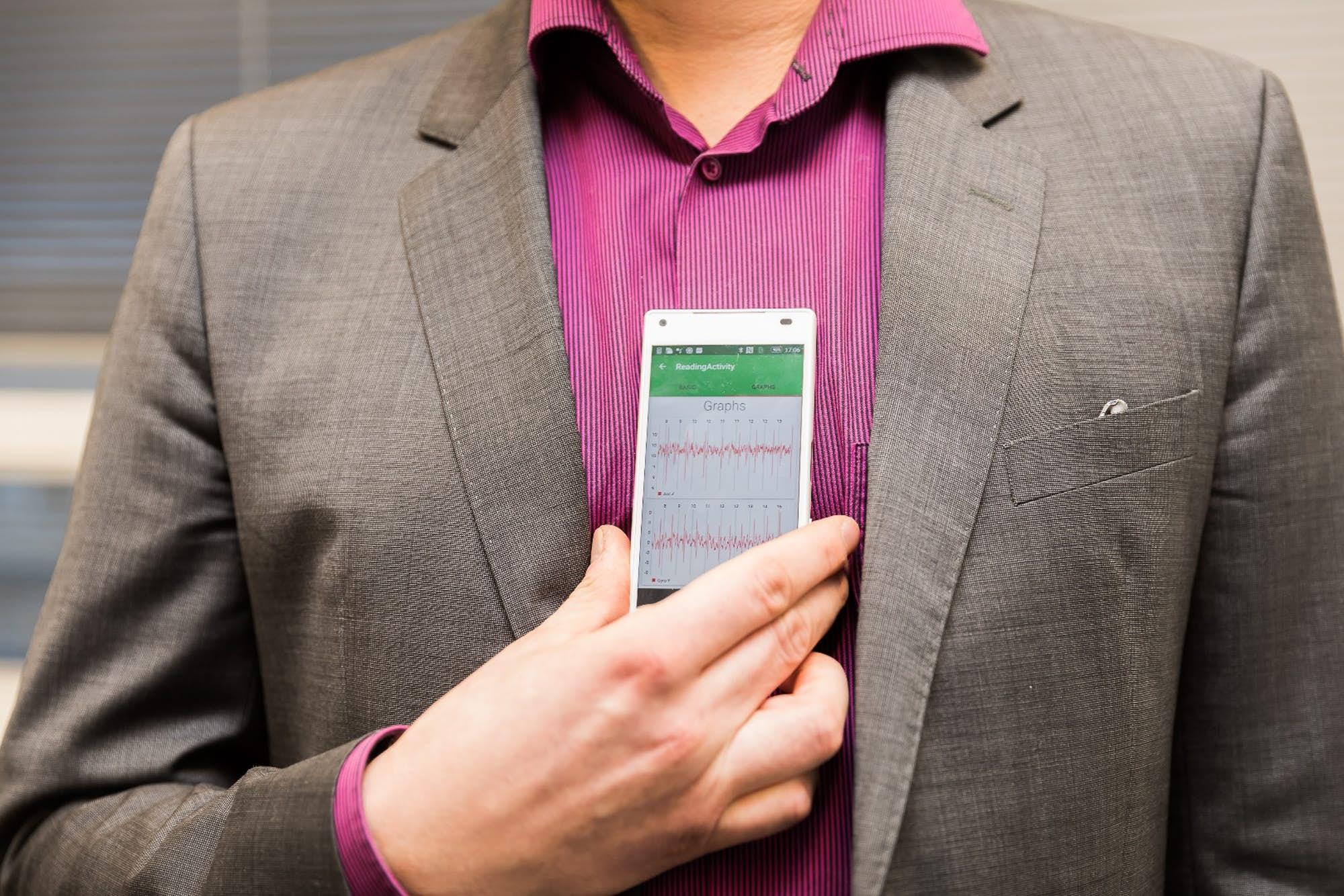 migotanie przedsionków smartfon