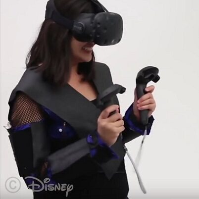 Disney Research Force Jacket VR