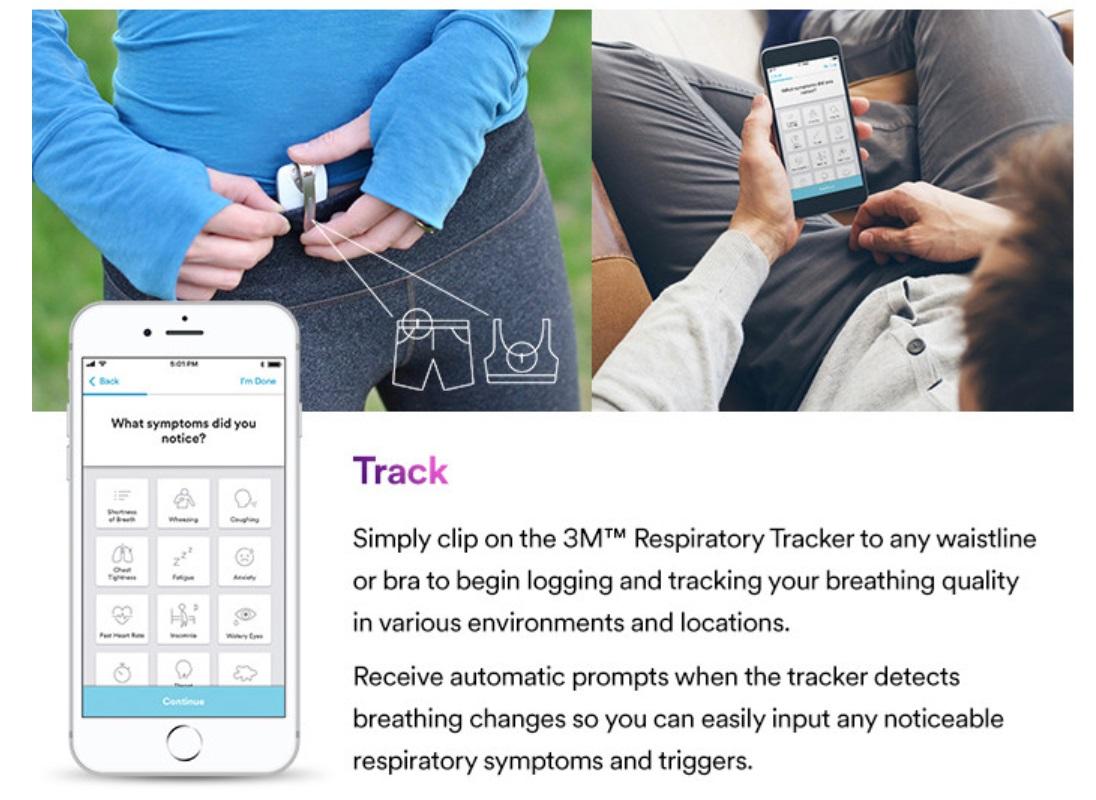 3M Respiratory Tracker
