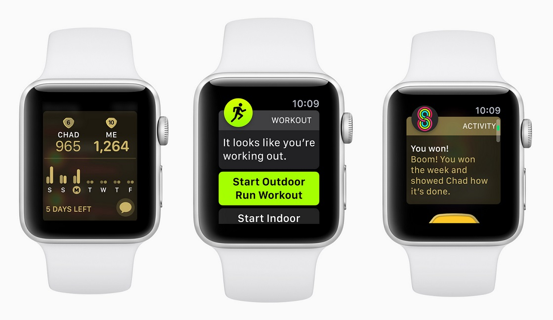 watchOS 5 fitness